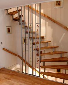 VS Treppen | Harfentreppe
