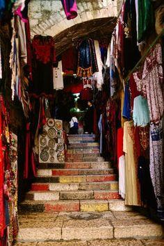 Shops in the Old City, Jerusalem