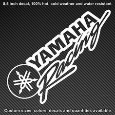 Fox Racing Logo, Yamaha Logo, Motos Yamaha, Grey Wallpaper Mobile, Logo Sticker, Sticker Design, Motocross Logo, Motorcycle Decals, Bike Stickers