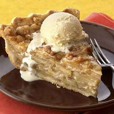 Ginger adds great flavor to the crust, filling and streusel in this pie.