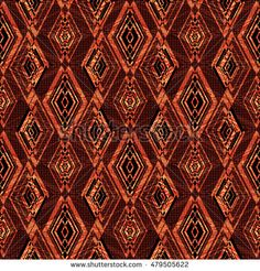 vintage seamless pattern texture  bright on brown background