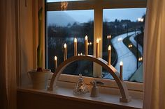 Norwegian advent candles