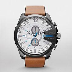 DIESEL® Mega Chief Chronograph DZ4280 #diesel #watch