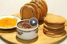 Macaron de Nancy Rudolph's Bakery, Macarons, Panna Cotta, Pancakes, Pudding, Cookies, Baking, Breakfast, Ethnic Recipes