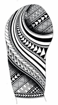 Maori Tattoo Design Ideas For Men.