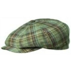 35132e79a58 JB Stetson Newsboy Cap - The Plaid Linen Newsboy Newsboy Cap