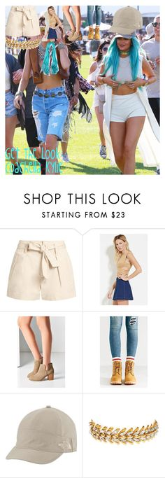 """""""Get The Look: Coachella Kylie"""" by oroartye-1 on Polyvore featuring Étoile Isabel Marant, Forever 21, Urban Outfitters, Timberland, The North Face and Elizabeth Cole"""