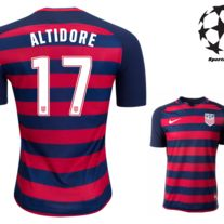 New+Jozy+Altidore+#17+USA+Gold+Cup+Shirt+2017+Mens+Soccer+Jersey++  The+USA+2017+Gold+Cup+shirt+embodies+the+fierce+determination,+energy,+and+confidence+of+the+team. Red+and+blue+hoops+cover+the+front+and+back+panel.+White+stars+run+down+each+sleeve.+Look+closely+and+see+additional+sublimated...