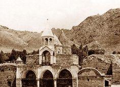 Van, Başkale Varak-Varagavank Ermeni Manastırı. 1900 'lü yıllar.