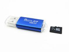 Lector de Tarjetas MicroSD modelo 10193 - http://complementoideal.com/producto/lector-de-tarjetas-microsd-modelo-10193/  -    Lector de tarjetas de memoria, acepta varios tipos de tarjetas. Un accesorio simple pero con mucha utilidad.     – Material de aleación de aluminio – Conector USB 2.0, hasta 480 Mbps velocidad de transmisión – Compatible con PC y MAC  – Compatible con tarjetas MicroSD ...