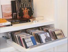 Organize seus CDs - Casa