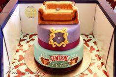 Friends TV Show Cake - more ideas: www.facebook.com/boutiquefestas
