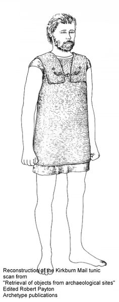 This is the mailshirt found at Kirkburn in Yorkshire. Dated to the 3/2nd century BC