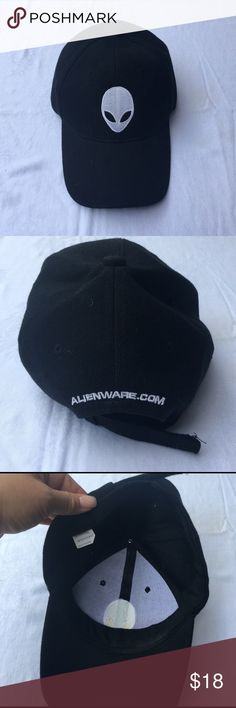 🌸SALE🌺Alienware adjustable hat- Unisex Unisex Alienware adjustable hat- hat is black with Alienware logo embroidered in white- EUC wore only once. ✅I ship same or next day ✅Bundle for discount Alienware Accessories Hats
