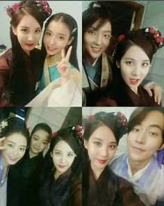 #GirlsGeneration singer #SeoHyun says goodbye to her #ScarletHeartRyeo family with adorable selfie :( https://www.dramafever.com/news/seohyun-shares-sweet-scarlet-heartryeo-memories-through-selfies-with-co-stars/?utm_campaign=coschedule&utm_source=pinterest&utm_medium=DramaFever