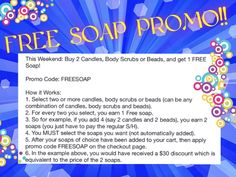 Good this weekend only!!! Expires Sunday at 11:59 PM PST. Cannot be combined with other offers. Order here  www.JewelScent.com/KarinGriffis