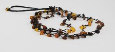Baltic Amber necklace by bluevalley on Etsy, $18.00