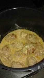 Boulettes de bœuf maison à la moutarde