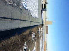 Flat roof replacement with a SBS torch-on onto an industral building in Calgary. The initial assembly was a tar and gravel roof. Flat Roof Replacement, Bragg Creek, Red Deer, Roof Repair, Calgary, Tie, Outdoor, Outdoors, Cravat Tie