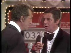 [Video] Jerry Lewis Dean Martin historic reunion at MDA Telethon 1976. Intro by Frank Sinatra (7:17)