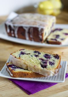 Lemon Blueberry Bread--this looks, sounds, tastes DIVINE...do you see all of those luscious blueberries just begging to melt in your mouth, along with that little zing of lemon zest? Start the coffee kids!
