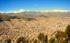La Paz, Bolivia | Right-click the wallpaper, select Set As Background.