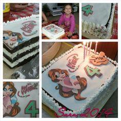 Una magica winx per Sara. Birthday cake