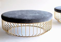 Phase Design | Reza Feiz Designer | Wired Ottoman - Phase Design | Reza Feiz…