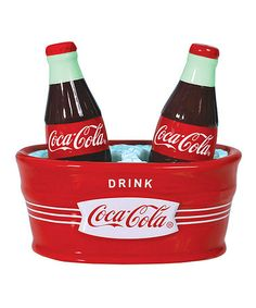 Look what I found on #zulily! Coca-Cola Salt & Pepper Shakers by Coca-Cola  #zulilyfinds