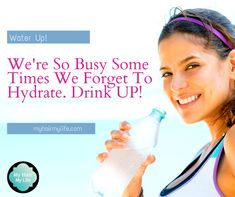 Proper hydration is not only good for your metabolism, skin, and mind but also for your hair and overall well-being. Make sure you stay refreshed and drink up!   Replace sugary drinks with some nice, cool, clean, refreshing water and start seeing the difference in as little as a few weeks.  Learn more at: Myhairmylife.com  #hairloss #hairstyles #hairislife #nohairnoproblem #hairlosscommunity #hairregrowth #stressfree #beautifulhair #selfcare #thinninghair #hairenvy #hairbeforeandafter Natural Hair Growth, Natural Hair Styles, Hair Loss Shampoo, Hair Regrowth, Healthy Hair, Metabolism, Hairstyles, Drinks, Nice