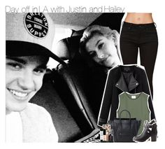 """Day off in LA with Justin and Hailey"" by zainy-1dx ❤ liked on Polyvore featuring beauty, Bullhead Denim Co., Chicnova Fashion, CÉLINE, Charlotte Russe, Casetify and Smashbox"