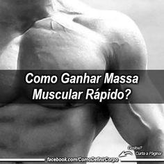 Como Ganhar Massa Muscular Rápido  ➡ https://segredodefinicaomuscular.com/29-dicas-como-ganhar-massa-muscular-rapido/  Gostou? Compartilhe com seus amigos...  #EstiloDeVidaFitness #ComoDefinirCorpo #SegredoDefiniçãoMuscular