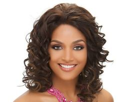 CANDIV Vivica A Fox  Synthetic Lace Front Wig in DARKEST BROWN *** Check out this great product.(This is an Amazon affiliate link and I receive a commission for the sales)