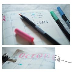 Some Bullet Journal inspiration and layout ideas. This time: My Monthly Log! #bulletjournal #ideas #layout #inspiration