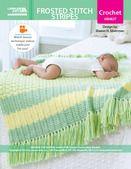 Frosted Stitch Stripes Blanket ePattern