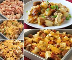 Loaded Chicken and Potatoes