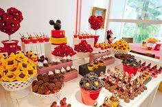 Encontrando Ideias: Tema Mickey e Minnie