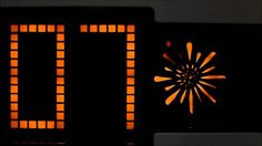 LUMITIME / Tamura Electronic / Model C-41 / Animated Starburst Clock / #lumitime