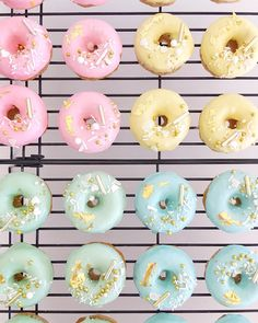 Likes, 39 Comments - Ivy + Stone Fancy Donuts, Cute Donuts, Cute Cupcakes, Donut Places, Disney Art Of Animation, Chocolate Dipped Marshmallows, Doughnut Cake, Delicious Donuts, Cute Desserts