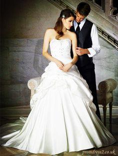 Sweetheart Beaded Wedding Dress