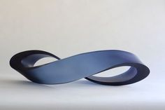 Christine Cathie Mobius Strip -steelblue