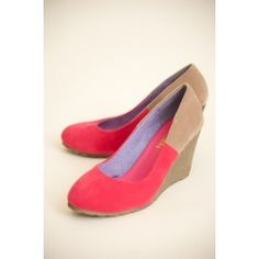 Ready or Not Wedge-Pink - cute and so inexpensive!- $18.00