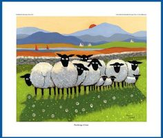 Giclee Print - Thinking Of Ewe - Thomas Joseph