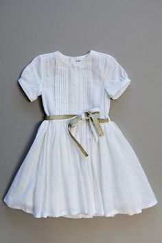 cute, white little girls dress