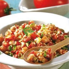 Couscous Salad with Chickpeas @ allrecipes.com.au