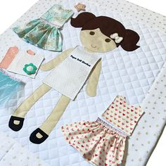 Little Star Collection - a perfectly sweet capsule collection for Paper Doll Blanket