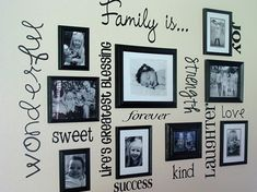 Cute Wall for Frames and Sayings