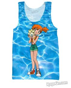 Misty and Togepi Tank Top