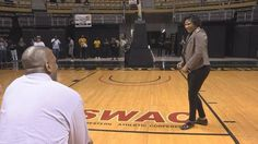 Former Alabama State University standout basketball player LaRue Dobson became the latest alumnus to put his HBCU in the news for a creative marriage proposal. Valencia Staten became the unsuspecting Valencia Staten became the unsuspecting bride-to-be during halftime of a home game against Texas Southern University