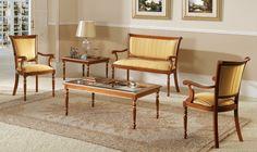 Ambiente de coleccion Clasico 14 - Ambiente clasico coleccion 14, fabricado en madera de haya, diferentes tipos de acabados.